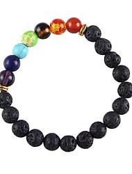 cheap -Women's Bead Bracelet Beads Simple Stone Bracelet Jewelry Gold / Silver For Daily Festival