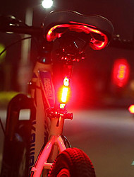 cheap -LED Bike Light Rechargeable Bike Light Set Rear Bike Tail Light Safety Light Mountain Bike MTB Bicycle Cycling Waterproof Portable Quick Release Durable 1000 lm Rechargeable USB White Red Cycling
