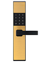 cheap -Factory OEM Stainless Steel Intelligent Lock Smart Home Security iOS / Android System RFID / Low battery reminder / Anti peeping password Home / Apartment / Hotel (Unlocking Mode Fingerprint