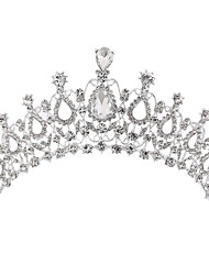 cheap -Alloy Tiaras with Rhinestone 1 Piece Wedding Headpiece