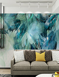 cheap -Wallpaper / Mural Canvas Wall Covering - Adhesive required Art Deco / Pattern