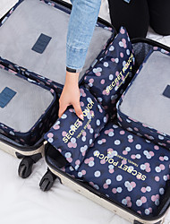 abordables -Sac de Voyage / Organisateur de voyage Grande Capacité / Portable / Durable Bagages / Vêtements Filet / Nylon Voyage