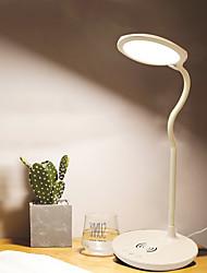 cheap -BRELONG Smart Phone Wireless Charging LED Eye Protection Table Lamp 1 pc