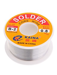 cheap -High Quality 63/37 Rosin Core Solder Wire Flux 2% Tin Lead Solder Iron Welding Wire Reel 0.8mm 100g B-2