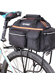 cheap -14 L Bike Rack Bag Waterproof Portable Multi layer Bike Bag Nylon Bicycle Bag Cycle Bag Cycling Bike / Bicycle / Reflective Strips