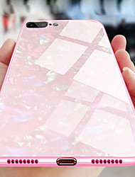 cheap -Case For Apple iPhone XS / iPhone XR / iPhone XS Max Plating Back Cover Glitter Shine Hard Tempered Glass