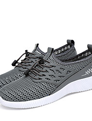 cheap -Men's Comfort Shoes Mesh Summer Casual Athletic Shoes Running Shoes Breathable Black / Blue / Gray