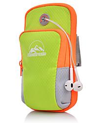 cheap -Unisex Zipper Oxford Cloth Mobile Phone Bag Striped Black / Orange / Blushing Pink / Fall & Winter
