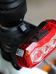 Недорогие -Светодиодная лампа Велосипедные фары Задняя подсветка на велосипед огни безопасности LED Горные велосипеды Велоспорт Велоспорт Водонепроницаемый Портативные Быстросъемный USB 150 lm Перезаряжаемый USB
