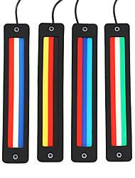 cheap -Flash Stylish LED DRL High Bright Lightness PVC Material DRL