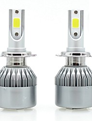 cheap -SENCART 2pcs 880/881 / H7 / H3 Motorcycle / Car Light Bulbs 36 W Integrated LED / COB 3800 lm 2 LED / Halogen Fog Light / Daytime Running Light / Headlamp For