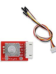 cheap -Keyes 360-degree rotary encoder Electronic building block wiring for arduino