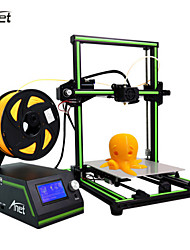 cheap -New Style Anet E10 Large Size Aluminum Frame Desktop DIY 3D Printer LCD Screen Display With SD Card Off-line Printing Function