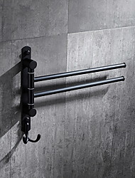 cheap -Towel Bar New Design / Cool Modern Stainless Steel / Iron 1pc 2-tower bar Wall Mounted