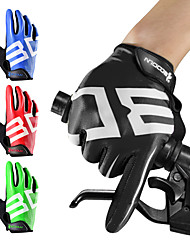 cheap -BOODUN Bike Gloves / Cycling Gloves Mountain Bike Gloves Mountain Bike MTB Padded Anti-Slip Shockproof Protective Full Finger Gloves Sports Gloves Lycra Silicone Gel Black Green Red for Adults'
