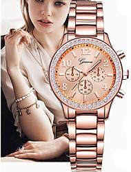 cheap -Women's Luxury Watches Wrist Watch Gold Watch Quartz Ladies Creative Analog - Digital Rose Gold Rose Gold / Silver Rose Gold / White / Stainless Steel