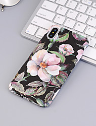 cheap -Case For Apple iPhone XS / iPhone XR / iPhone XS Max Pattern Back Cover Flower Hard PC