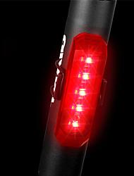 Недорогие -Светодиодная лампа Велосипедные фары Задняя подсветка на велосипед огни безопасности Шлем задний фонарь Горные велосипеды Велоспорт Велоспорт Водонепроницаемый Несколько режимов Быстросъемный Легкость