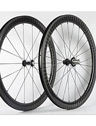 cheap -NEASTY 700CC Wheelsets Cycling 23 mm / 25 mm Road Bike Carbon Clincher 20/24 Spokes 50 mm