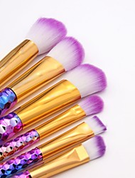 cheap -6 Pieces Makeup Brushes Professional Blush Brush / Eyeshadow Brush / Lip Brush Nylon fiber Full Coverage