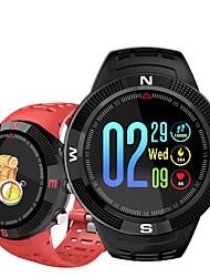 Недорогие -Indear F18 Мужчины Умный браслет Android iOS Bluetooth GPS Спорт Водонепроницаемый Пульсомер Измерение кровяного давления / Секундомер / Датчик для отслеживания активности / Найти мое устройство