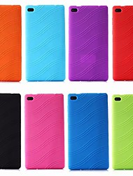 cheap -Case For Lenovo Lenovo Tab 7 Essential / Lenovo Tab 4 7 Essential Shockproof / Ultra-thin Back Cover Solid Colored Soft Silica Gel