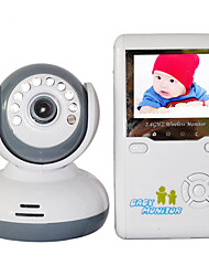 "cheap -Baby Monitor 9020D 380TVL 1/4″CMOS 70° Night Vision Range 2-3 m 2.4GHz 2.4"" TFT LCD"
