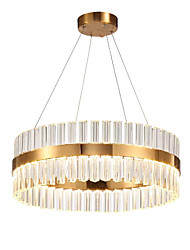 cheap -1-Light 60 cm Chandelier Metal Electroplated Traditional Classic 110-120V 220-240V