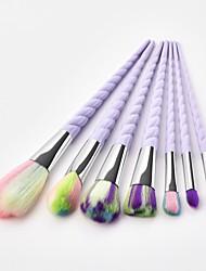 cheap -7pcs Makeup Brushes Professional Blush Brush / Eyeshadow Brush / Lip Brush Nylon fiber Full Coverage