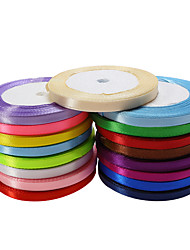 cheap -Creative / Solid Colored Ribbon / Satin Wedding Ribbons Piece/Set Satin Ribbon / Unique Wedding Décor Decorate favor holder / Decorate gift box