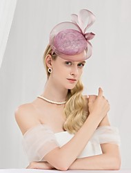 cheap -100% Linen Kentucky Derby Hat / Headbands with Bowknot 1pc Special Occasion / Party / Evening Headpiece