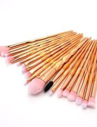 cheap -20pcs Makeup Brushes Professional Blush Brush / Eyeshadow Brush / Lip Brush Nylon fiber Full Coverage