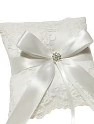 cheap -Lace / Nylon Crystals / Rhinestones Lace Ring Pillow Pillow / Wedding All Seasons