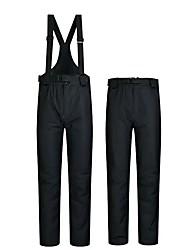 cheap -Men's Women's Ski / Snow Pants Skiing Camping / Hiking Snowboarding Thermal / Warm Waterproof Windproof 100% Polyester Spinning Cotton Bib Pants Ski Wear / Winter