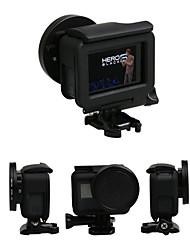 Недорогие -крышка объектива Чехлы Защита 1 pcs Для Экшн камера Gopro 5 На открытом воздухе Разные виды спорта Стекло ABS + PC