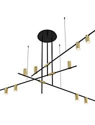 Недорогие -ZHISHU 9-Light 138 cm Новый дизайн Люстры и лампы Металл геометрический Электропокрытие / Окрашенные отделки Художественный 110-120Вольт / 220-240Вольт