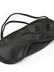 Недорогие -чистая шелковая маска для век для сна с подкладкой из черного оттенка
