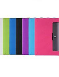 abordables -Coque Pour Lenovo Lenovo Yoga Tab 3 10.1 (YT3-X50F / M) Antichoc / Ultrafine Coque Intégrale Couleur Pleine Flexible Le gel de silice
