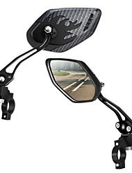 cheap -Rear View Mirror Handlebar Bike Rear View Mirror Cycling Adjustable / Retractable Mirror Cycling Bicycle motorcycle Bike Aluminium Alloy ABS Black 2 pcs Road Bike Mountain Bike MTB Motobike