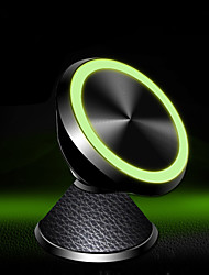 Недорогие -Стол / Автомобиль Держатель подставки Рабочая панель Магнитный тип / Новый дизайн / 360 ° Вращение Металл Держатель