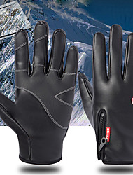 cheap -Sports Gloves Winter Gloves Ski Gloves Men's Women's Snowsports Full Finger Gloves Winter Waterproof Windproof Warm Leather Silicone Spinning Cotton Skiing Snowsports Snowboarding