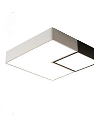 cheap -Geometric Flush Mount Ambient Light Painted Finishes Metal Tri-color 220-240V Warm White+White LED Light Source Included / LED Integrated