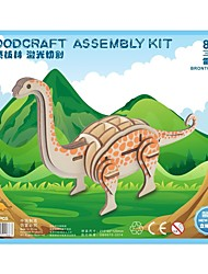 cheap -Wooden Puzzle Logic & Puzzle Toy Jurassic Dinosaur Velociraptor Dinosaur Animal School Professional Level Stress and Anxiety Relief Wooden 1 pcs Teen Children's All Toy Gift / New Design