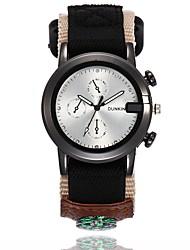 cheap -Men's Wrist Watch Quartz Black / Blue / Green Casual Watch Cool Analog Casual Fashion - Beige Green Blue One Year Battery Life