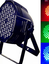 cheap -54 RGB Full Color Par Light 7 Channel Voice Control Self-Propelled DMX512 Signal Control Wedding Performance Mixed Color Lamp