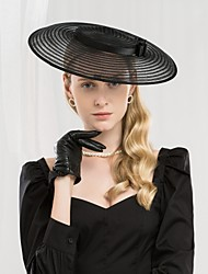 cheap -Tulle Kentucky Derby Hat / Hats with Bowknot 1pc Special Occasion / Party / Evening Headpiece