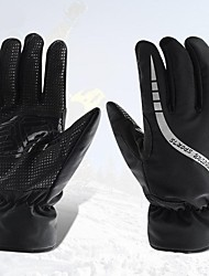cheap -Winter Gloves Ski Gloves Men's Snowsports Full Finger Gloves Winter Waterproof Windproof Warm Lycra Skiing Snowsports Snowboarding