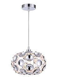 cheap -1-Light CXYlight 25 cm Mini Style / New Design Pendant Light Acrylic Acrylic Drum / Mini Electroplated Contemporary / Modern 110-120V / 220-240V