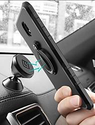 abordables -Coque Pour Samsung Galaxy J7 Prime / J7 (2017) / J5 Prime Antichoc / Avec Support / Anneau de Maintien Coque Carreau vernisé / Armure Dur PC