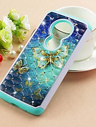 cheap -Case For Motorola Moto Z3 Play / MOTO G6 / Moto G6 Play Rhinestone / Pattern Back Cover Mandala Hard PU Leather